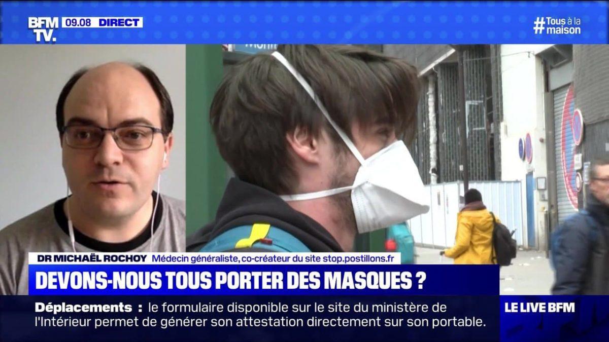 Devons-nous tous porter des masques ? – 06/04