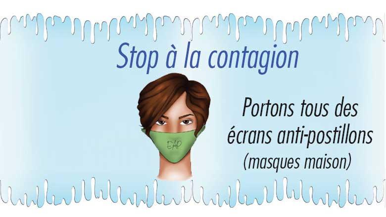 Le masque EAP comme mesure barrière n°6 – Nutritions et endocrinologie